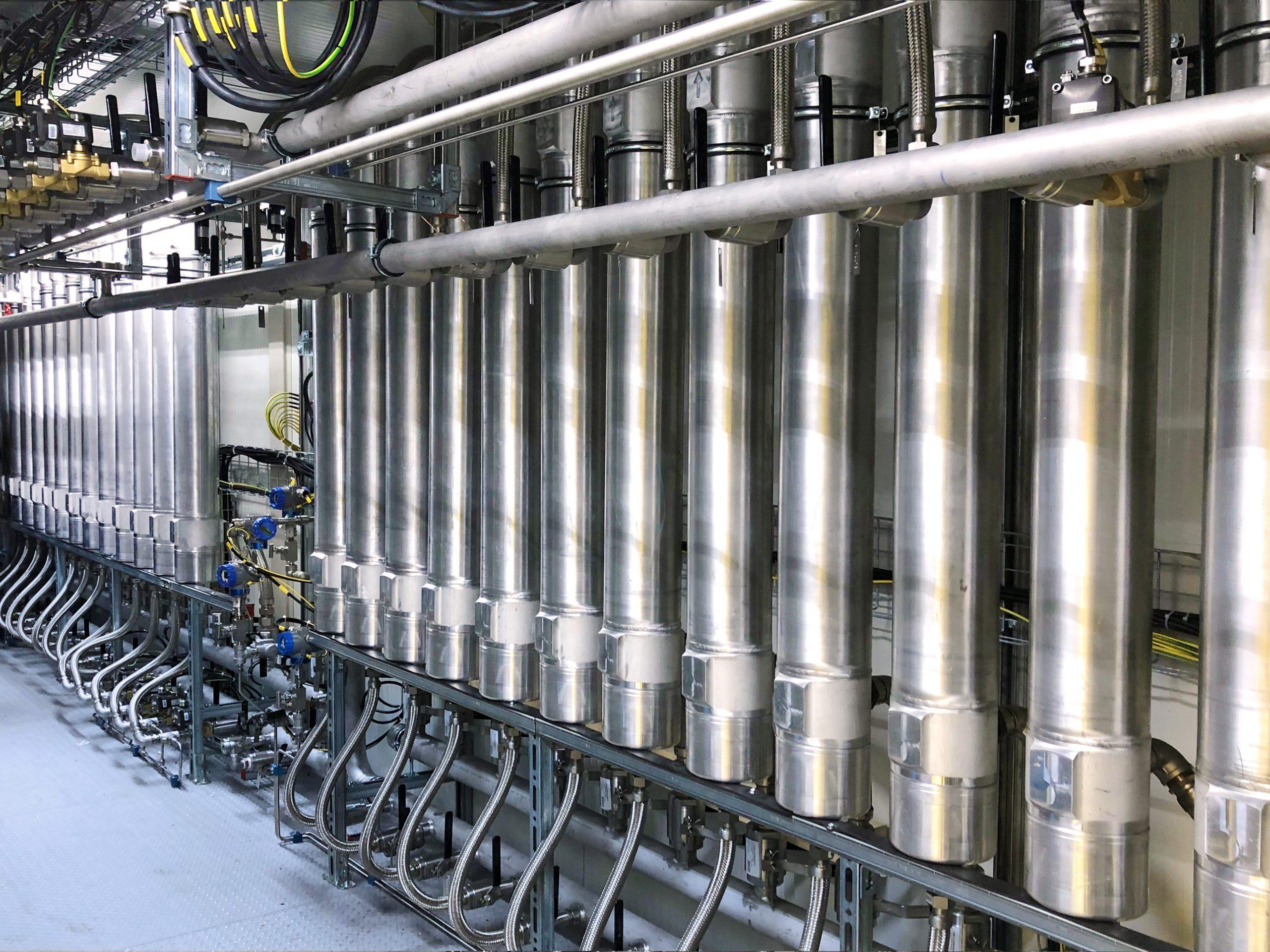 Mise en service d'une unité d'épuration Biogaz