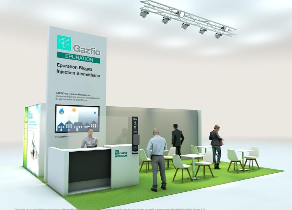 GAZFIO présent au salon Expobiogaz du 1er au 2 Septembre 2021